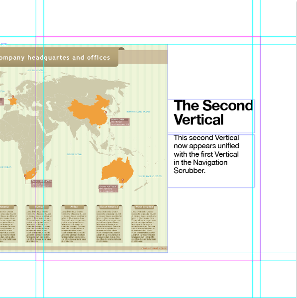 """Now create a second InDesign layout called """"Spread Example 2"""" and place the rest of your content."""