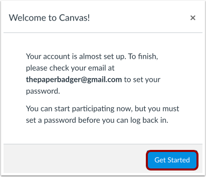 View Canvas Account