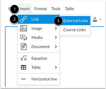 Create Hyperlink from Menubar