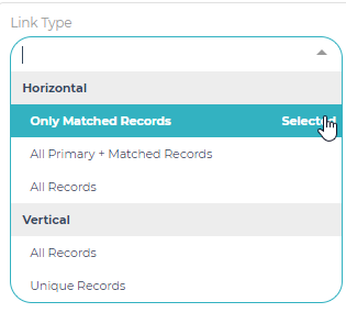 Only Matched Records