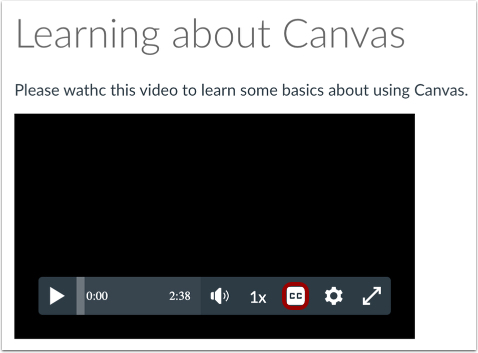 View Embedded Video