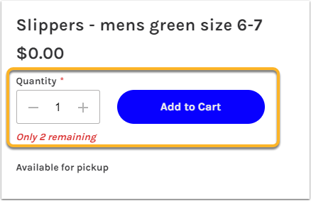 Slippers - mens green size 6-7 | HHS Hero - Must use Viking email account. Point cost listed in item description - Google Chrome
