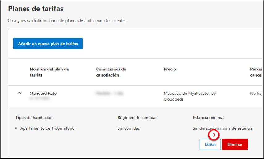 Test · Planes de tarifas - Google Chrome