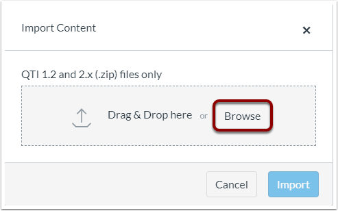 Select Browse.