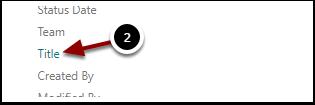 List Settings - Google Chrome