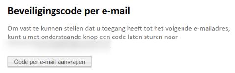 Aanvullende authenticatie vereist - Google Chrome