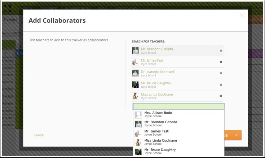 Add Collaborators