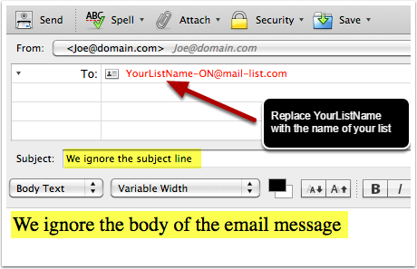 The From: header must contain the email address they typed into your web page.