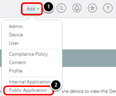 Coupa tutorial: Add a New Public Application