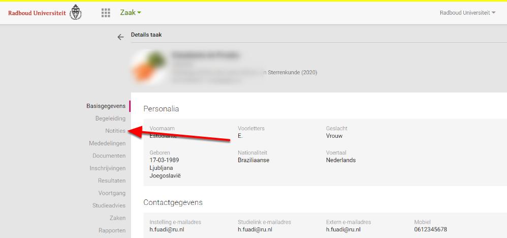 OSIRIS Docent & Begeleider - Google Chrome