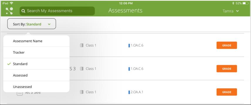 Sort Assessments