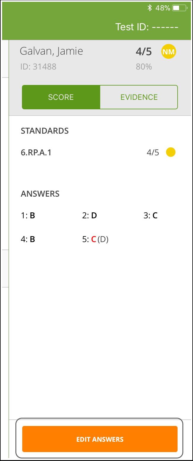 Edit Answers