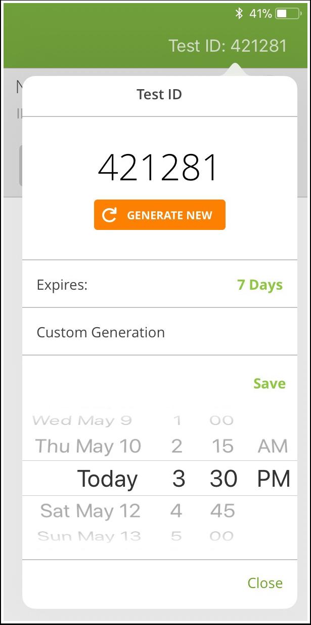 Set Custom Expiration Date