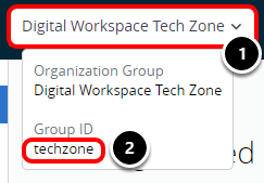 Finding your Group ID