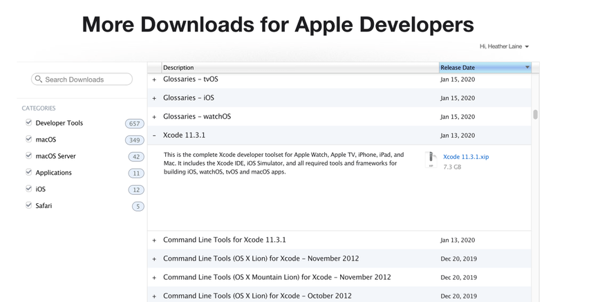Downloading and installing the iOS SDK