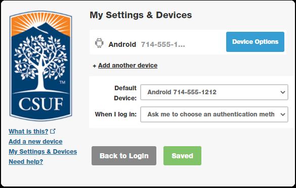updated my settings
