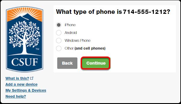 phone type