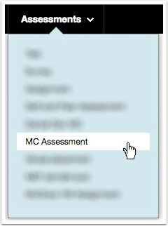 Select MasteryConnect Assessment