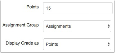 Enter Assessment Points