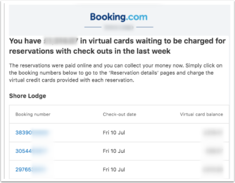 What happens if the property does not charge the Booking.com Virtual Cards? | Guru - Google Chrome