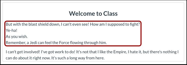 Tekst med enkelt linjeafstand