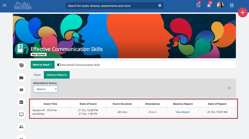 (20) Newsfeed | Effective Communication Skills | Teamie Demo