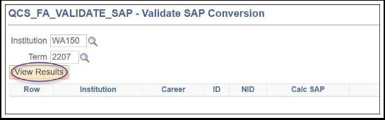 Validate SAP Conversion Image