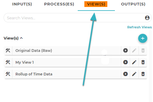 Open the Process(es) Tab in the Flow Configuration Tool.