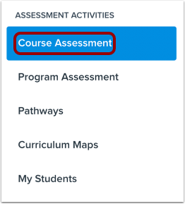 Open Course Assessments