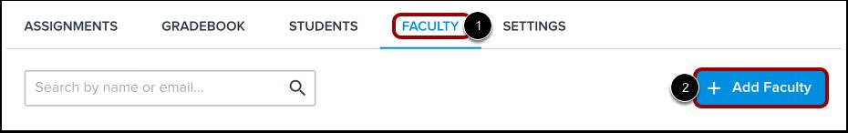 Add Faculty