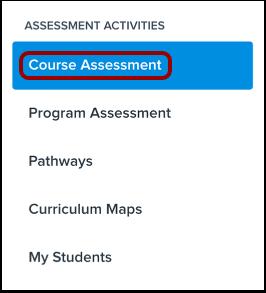 Open Course Assessment