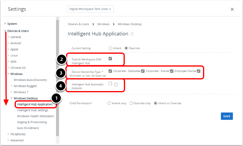 Auto-Deploy and Update the Intelligent Hub
