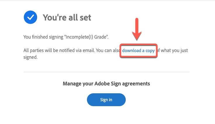 download copy agreement