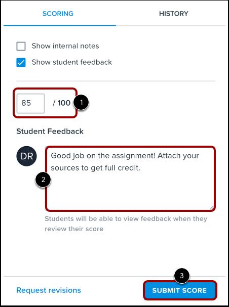Score Submission
