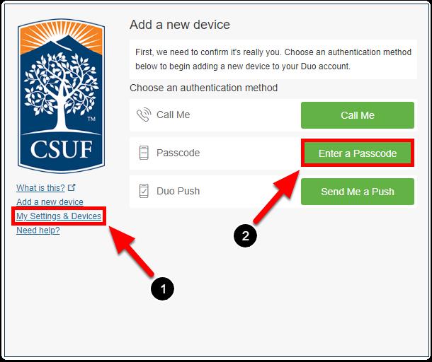 add new device screen