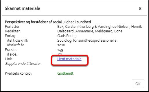 Litteraturliste – Google Chrome