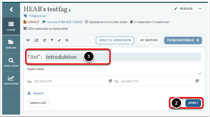HEAB's testfag – Google Chrome
