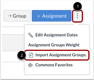 Import Assignment Groups
