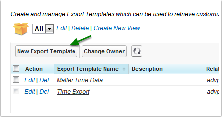 Export Templates