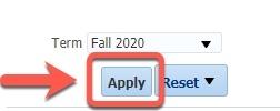 Arrow pointing to Apply button