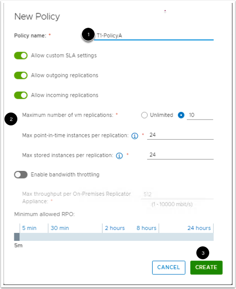 Login to vCloud Availability