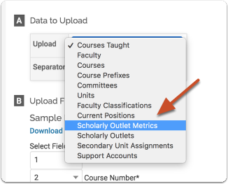 Select Scholarly metrics or Scholarly Outlets