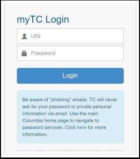 myTC Login - Google Chrome