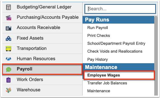 Employee Wages