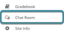 Select Chat Room from the tool menu