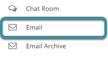 Select the Email tool from the tool menu