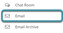 Select Email from the Tool Menu