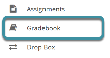 Select Gradebook from your site's tool menu