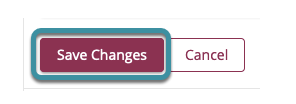Save changes
