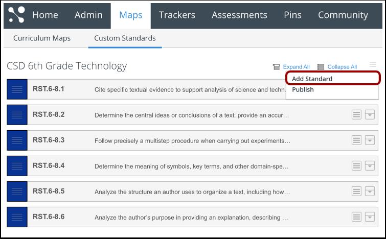 Open Standards tool